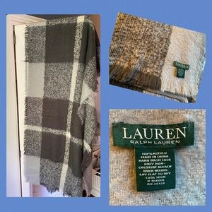 Soft Ralph Lauren Wrap Gray
